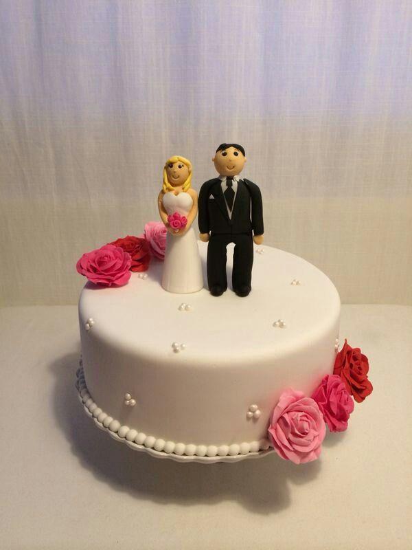 Hedendaags 30 jaar getrouwd - Taart en Cupcakes QL-53