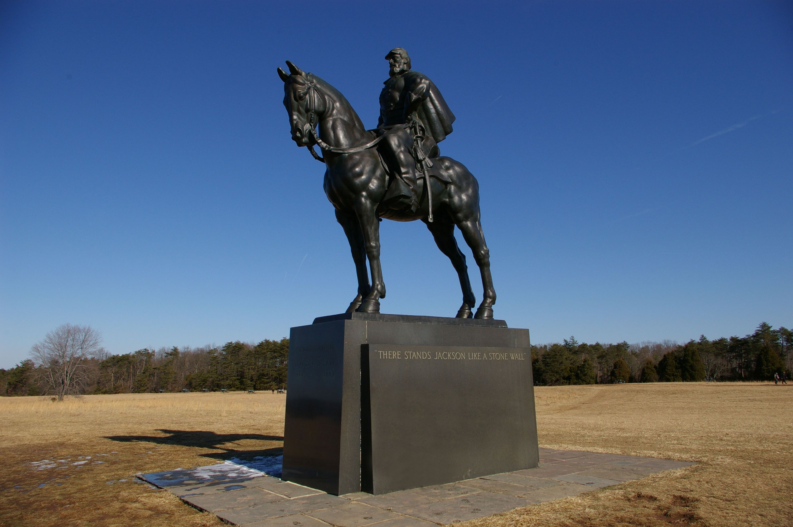 Stonewall Jackson Memorial In Manassas National Battlefield Park