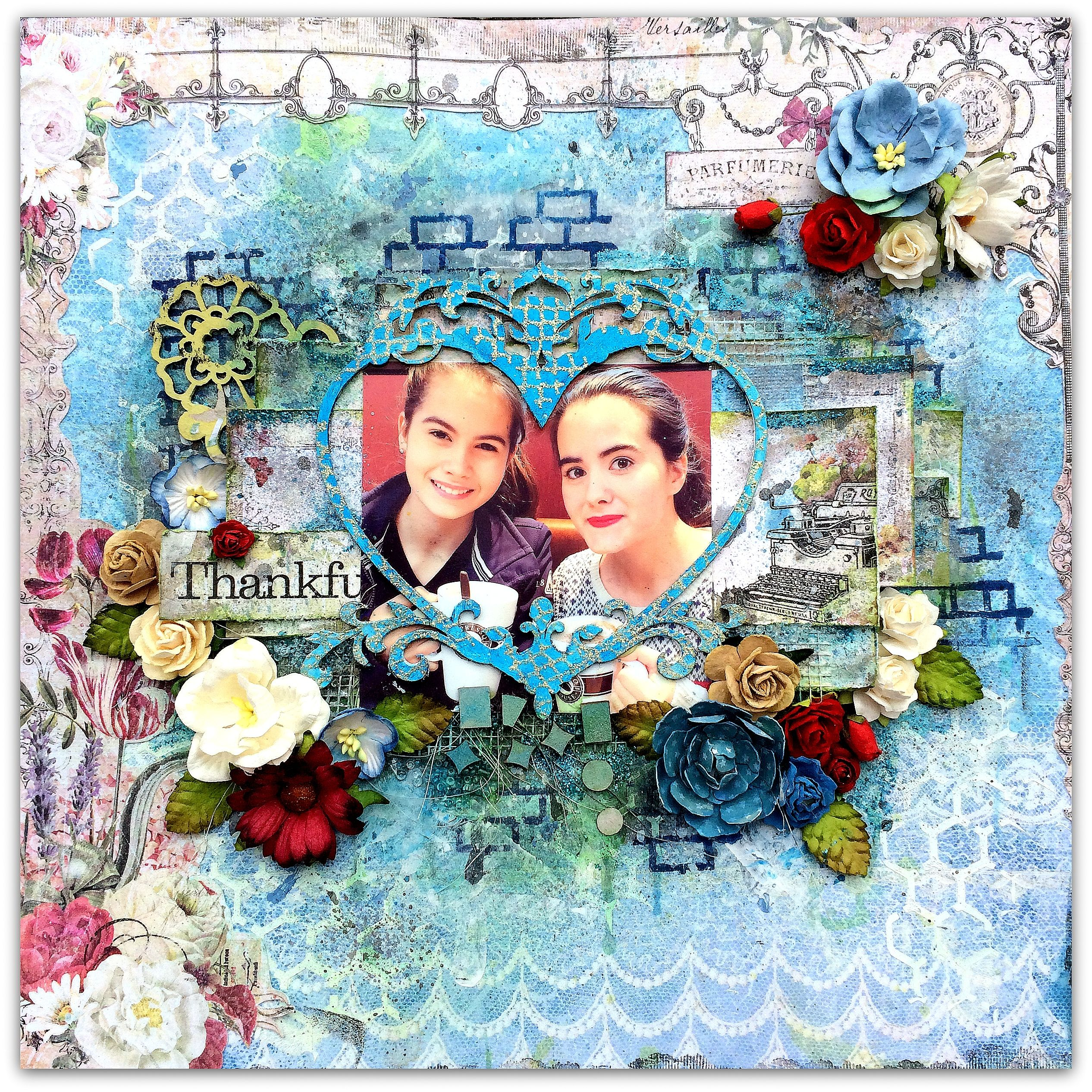 Blue Fern Studios *Thankful* - Autumnn Anthology collection and beautiful chipboard, mists and stamps from Blue fern Studios