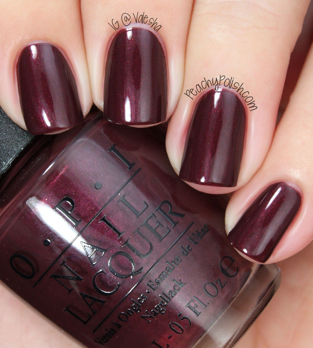 OPI Sleigh Ride For Two | Nails | Pinterest | OPI and Swatch