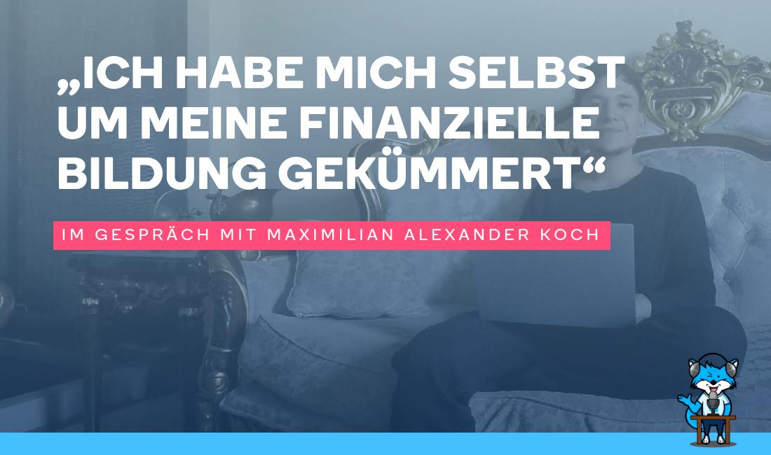 Pin Von Markus Dumig Auf Financial Finanzen Alexander Koch Bildung