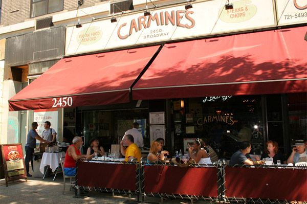 Carmines Nycs Legendary Family Style Italian Restaurant
