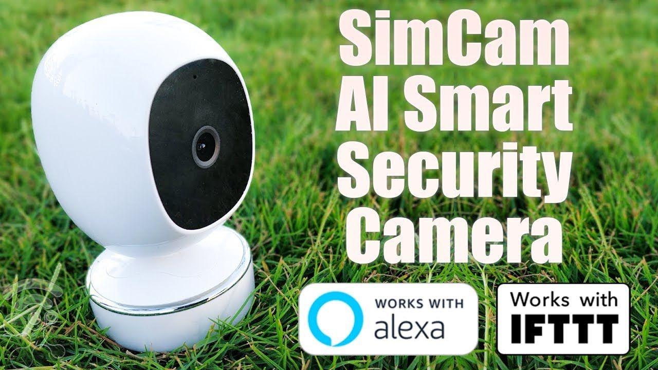 Simcam Ai Security Camera For Smart Home Review Best Home Security Camera Wireless Security Camera System Security Cameras For Home