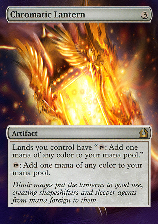 Chromatic Lantern Proxy Magic Gathering