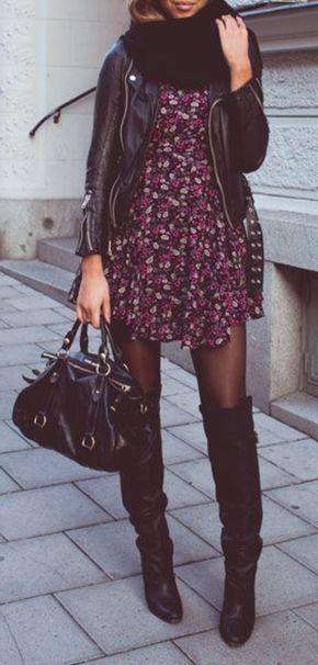 La veste en cuir - 89 idées comment la porter - Archzine.fr #modafemenina