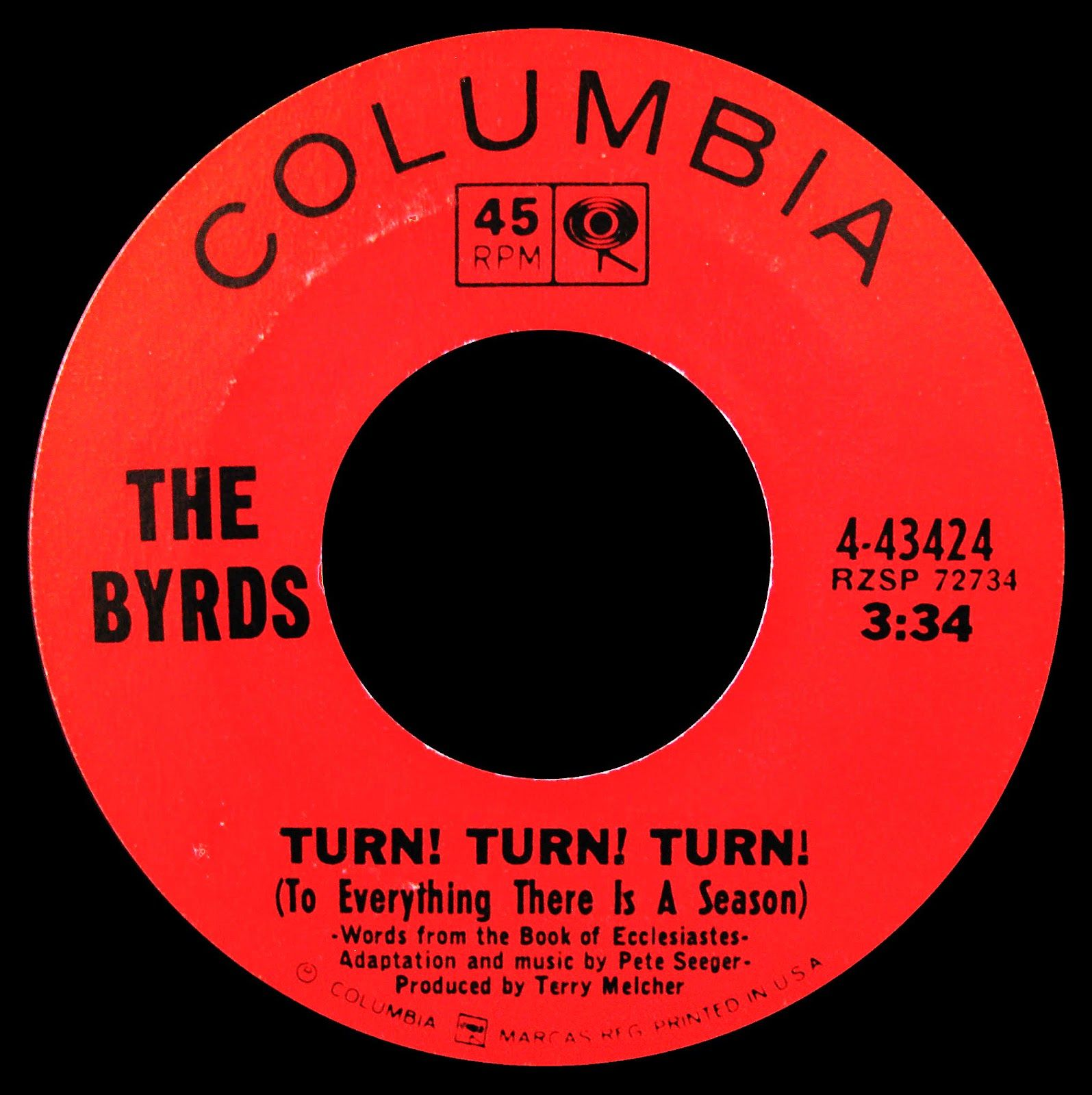 Turn Turn Turn The Byrds 1965 I Love This Song In 2020 Music Memories Oldies Music Vinyl Music