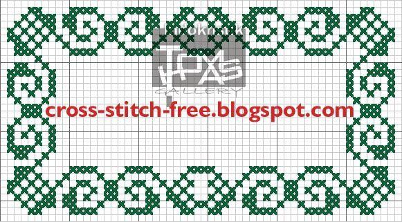 Free Printable Cross Stitch Patterns free cross stitch border