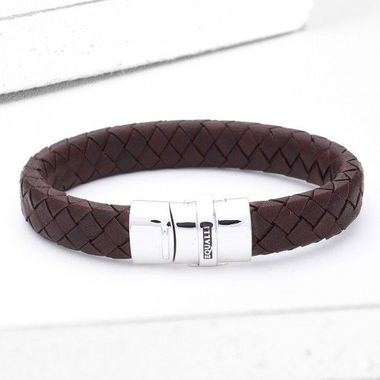 Orman leather bracelet in tobacco #area51partyoutfit
