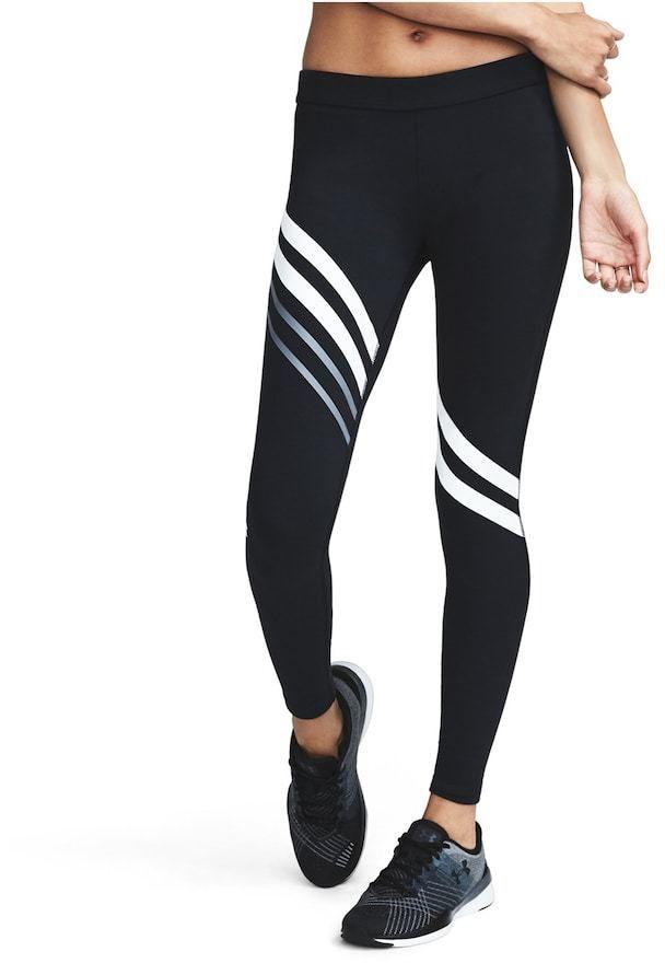 Under Armour Women S Under Armour Favorite Engineered Striped Leggings Leggings Hosen