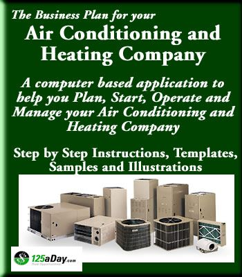 Business Plan For Your Air Conditioning And Heating Company Hvac
