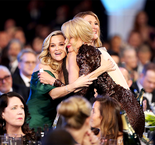 Nicole Kidman, Laura Dern, & Reese Witherspoon during the