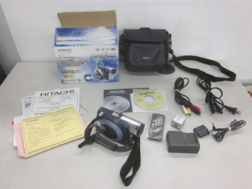 hitachi dz mv550a dvd video camera camcorder bundle bag manual rh pinterest co uk Hitachi Repair Manual Honeywell Pressuretrol Manual