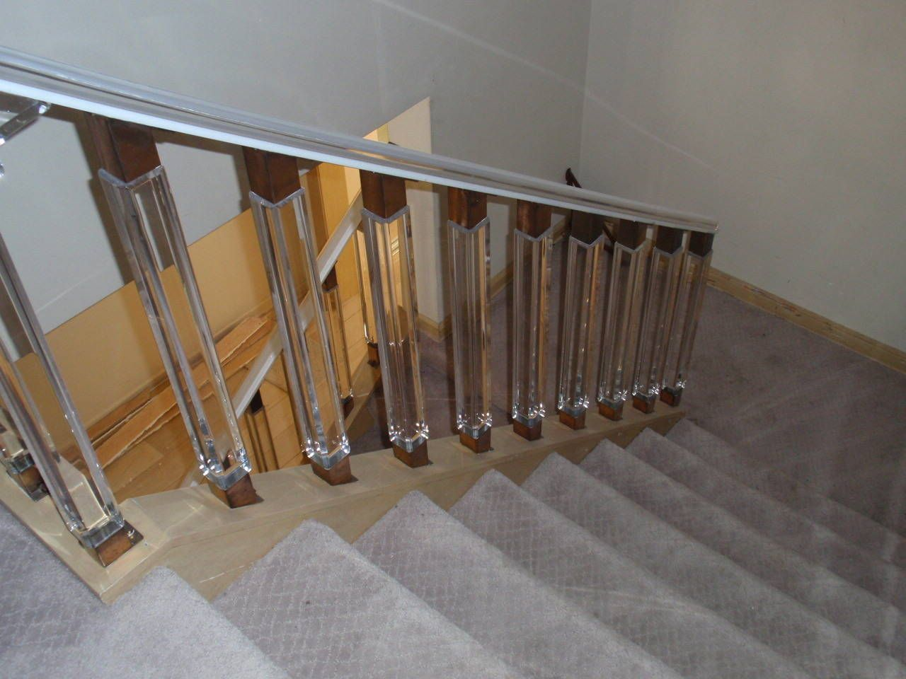 Best Image Result For Lucite And Wood Stair Rail With Images 400 x 300