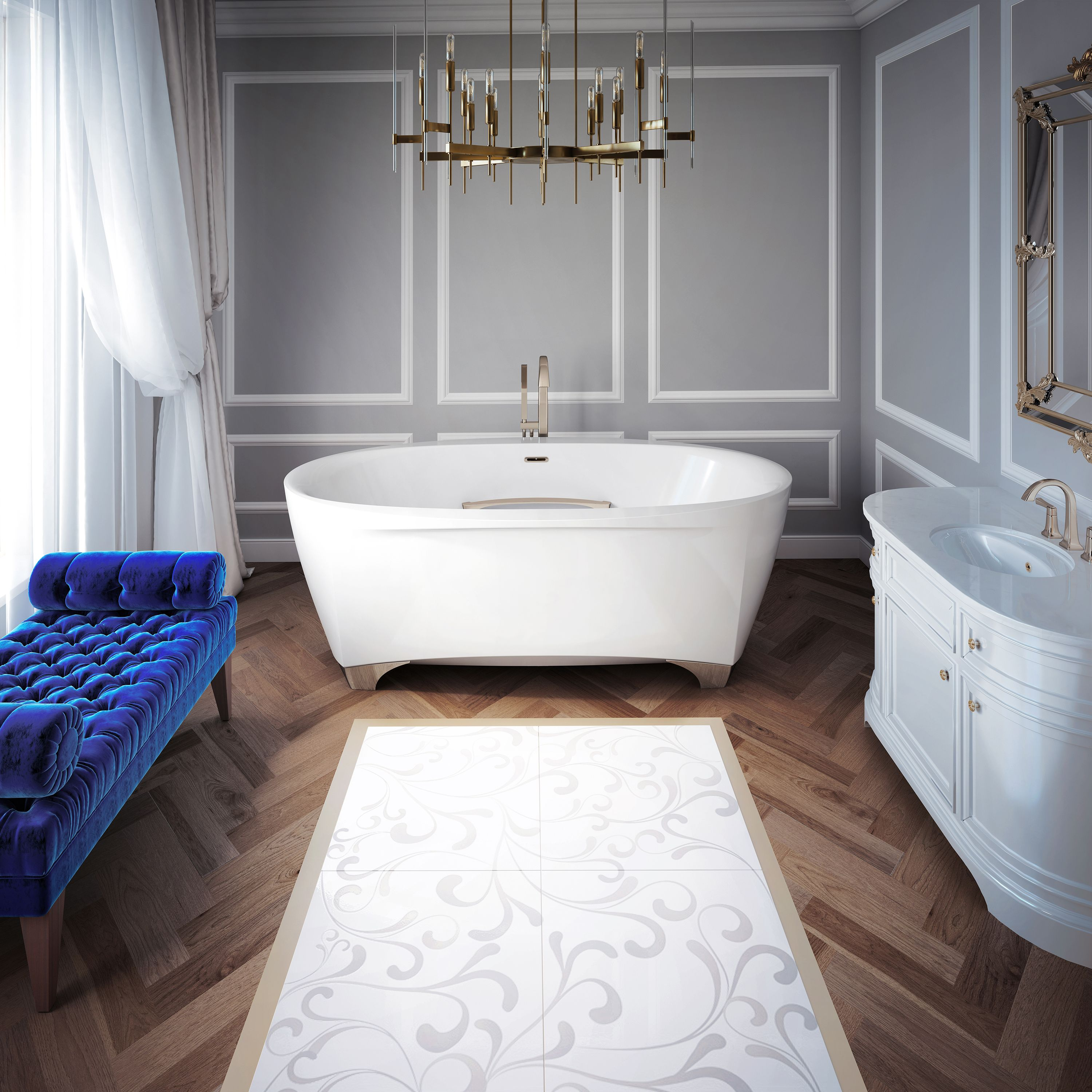 Scala A New Collection Of Bathtubs With Luxurious Modern Design