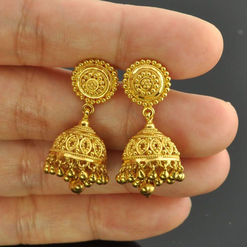 Black JhumkisMeenakari EarringsIndian JewelryGold JhumkisBig JhumkasIndian JewelryPakistani Jewelry