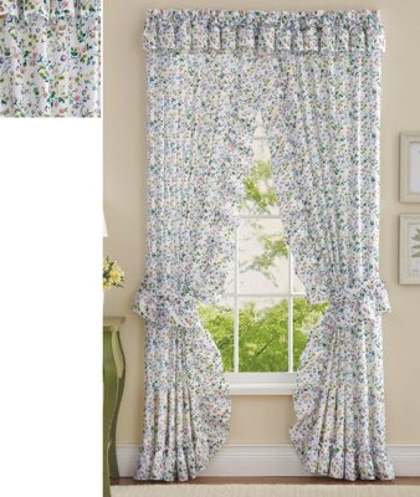 13 Amazing Ideas How To Make Shower Curtains With Valance And
