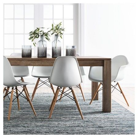 Braxton 72 Dining Table Rustic Brown Target Interior