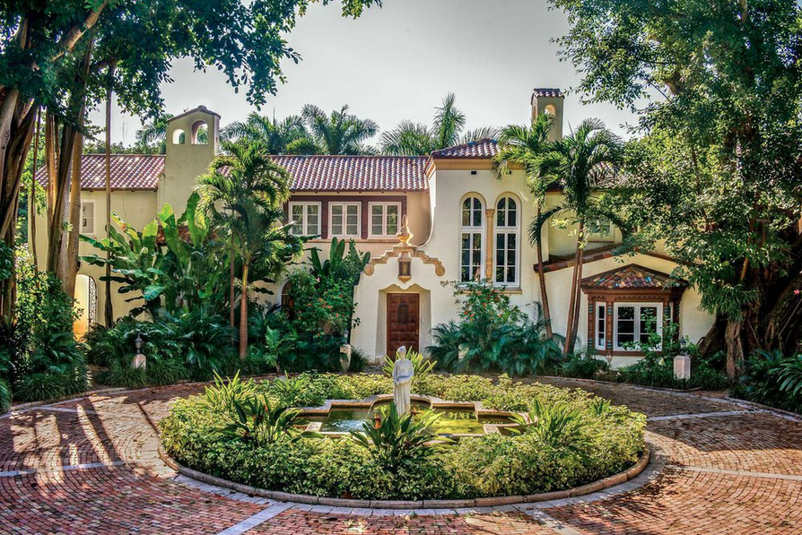 Spanish Colonial mansion built in 1920