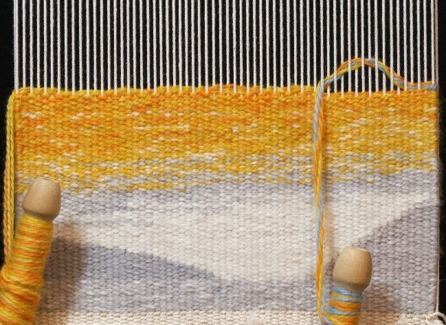 Color Blending Using Multiple Wefts Tapestry Tapestry Weaving And