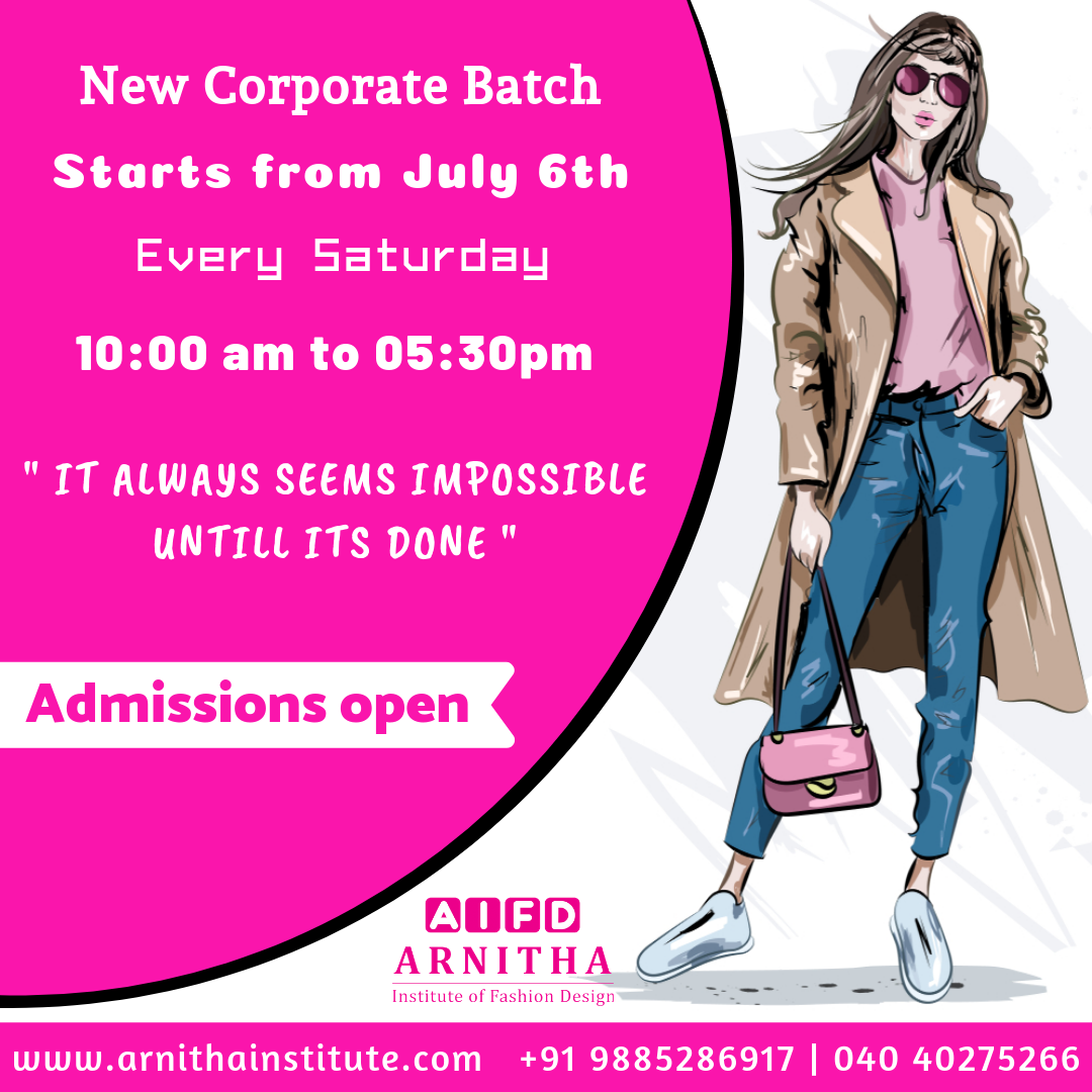 It Always Seems Impossible Until It S Done New Corporate Batch Starts From July 6th Every Saturday Fashion Design Fashion Designing Course Student Fashion