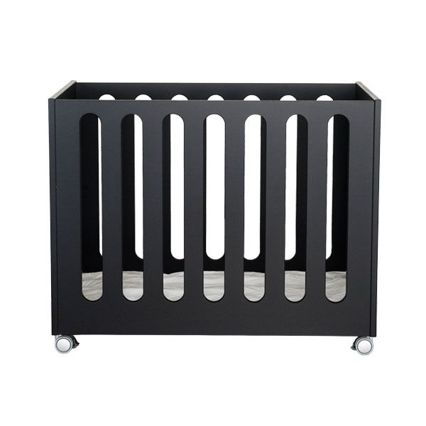 scandinavian baby crib designs | Crib, black - AVA Room ...
