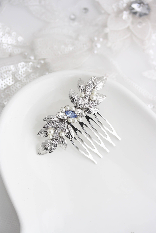 wedding hair comb for bridesmaids small bridal comb