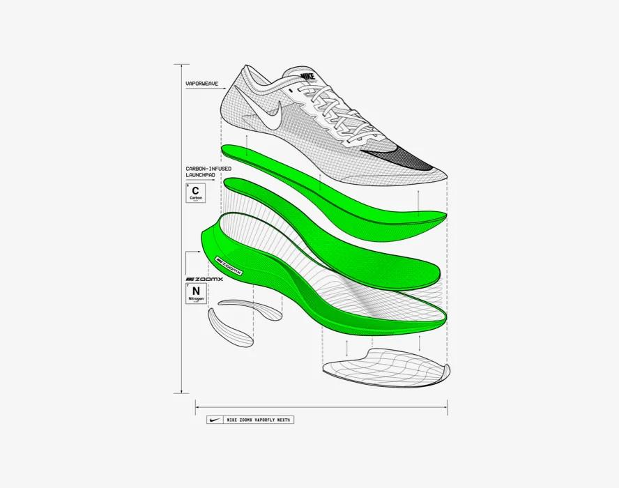 incondicional Torneado Molde  Nike Vaporfly. Nuevas Vaporfly NEXT%. Nike ES en 2020 | Medidas de, Nike,  Fornituras