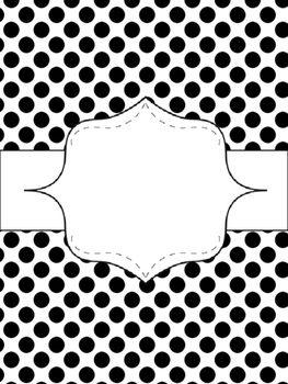 editable binder covers turquoise black grey printable