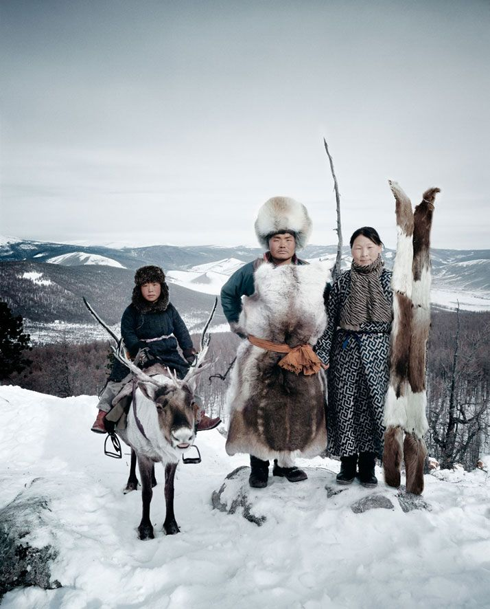 Tribu Tsaatan, Mongòlia.