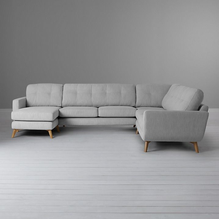 John Lewis Partners Barbican Grand Corner End Sofa With Lhf Chaise Unit Chaise