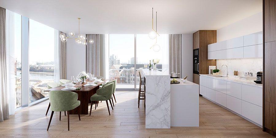 30 Idee per Arredare una Sala da Pranzo Moderna | Villas