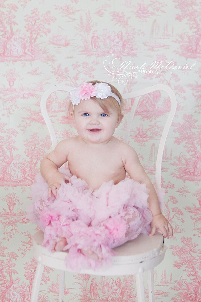 Pettiskirt - Tutu - Girls FIrst birthday Outfit - Pettiskirt - Pink Skirt - Newborn Photo Prop - Baby Valentines Day Outfit. $30.00, via Etsy.