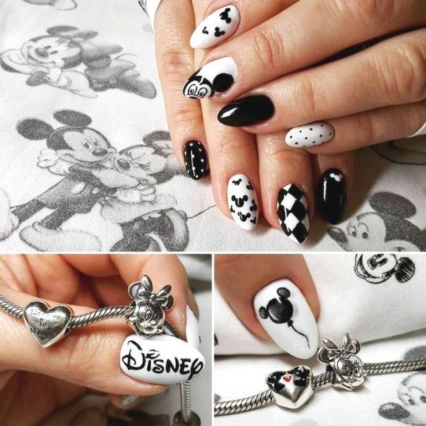 Disneynails Disneyhalloweennails Mickeymouaenails ...