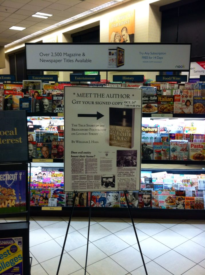 Display For Appearance In Barnes And Noble Milford The World S