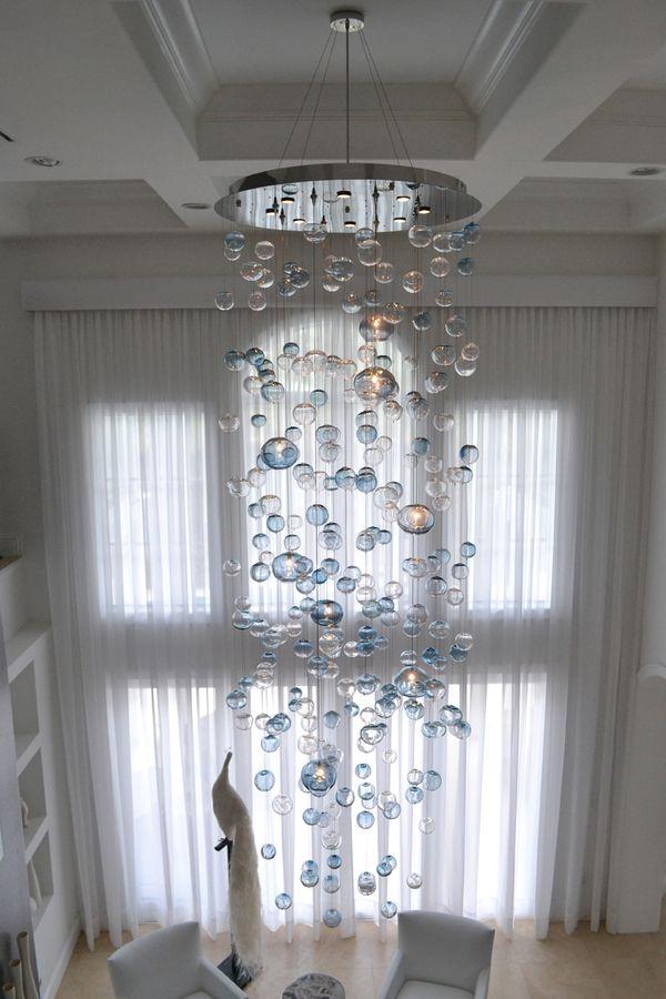Floating bubbles chandelier studio bel vetro lighting pinterest floating bubbles chandelier studio bel vetro aloadofball Images
