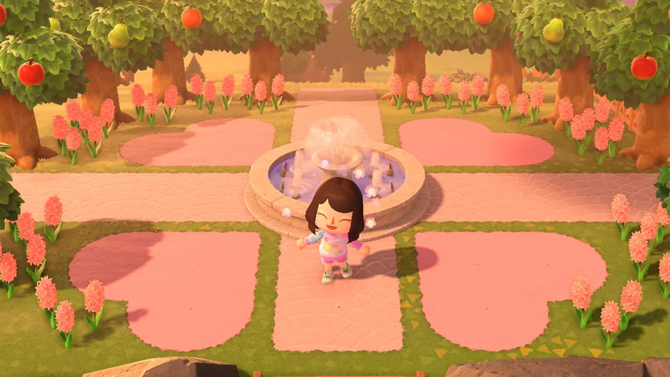 I M Loving These Custom Paths This Is My Town Entrance Animalcrossing Animal Crossing Animal Crossing Characters Animal Crossing Qr