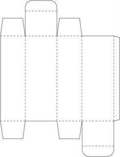 Tall Skinny Box 1 X 5 Template Printable Patterns
