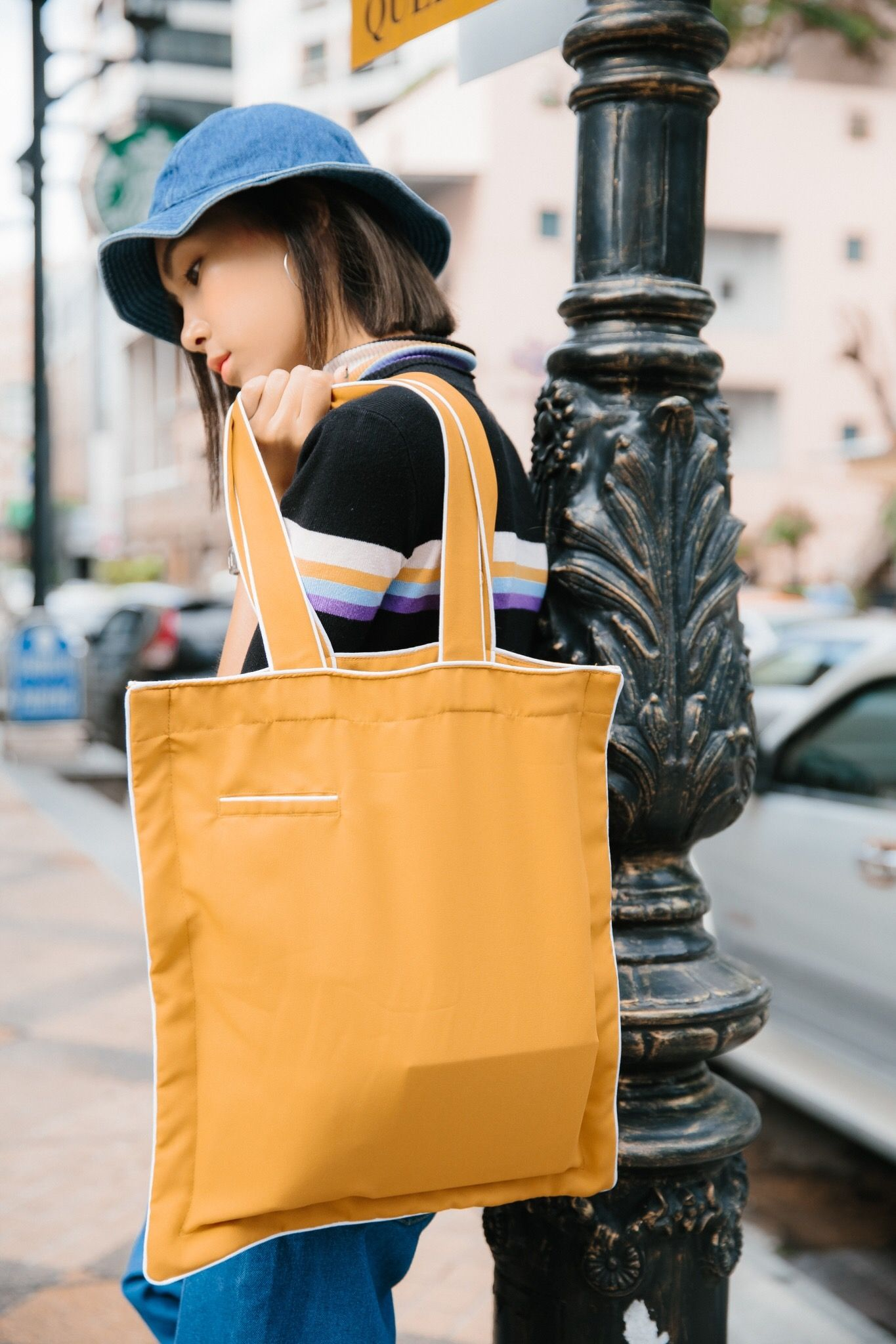 904a656b67d4 Vavavala Tote – Mustard Yellow Tote Bag in 2018