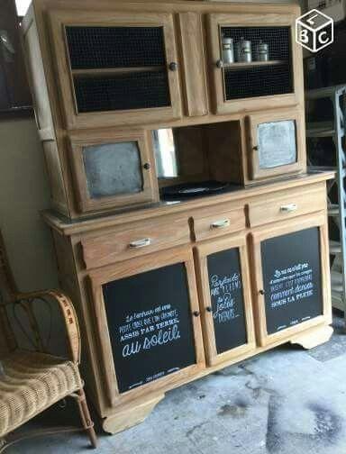 Buffet mado relokee meubles bibelots pinterest for Bibelots decoration cuisine