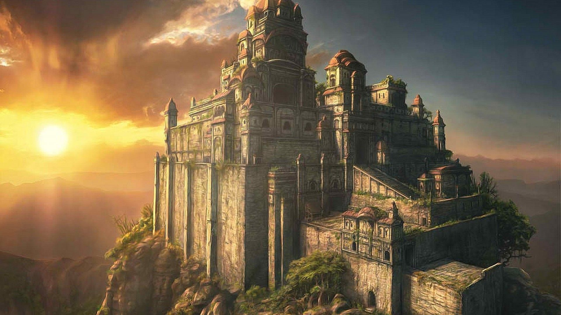 fantasy art castles wallpaper images & pictures - becuo | cities and