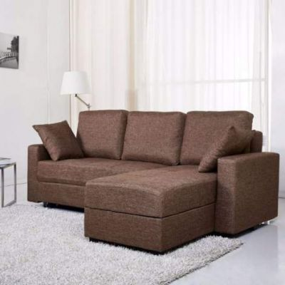 Sectional Storage Sofa Bed