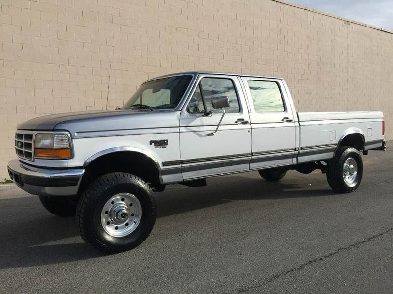 1997 Ford F 350 Xlt 4dr 4wd Crew Cab Lb Salt Lake City Ut Ford Trucks Ford Truck Ford
