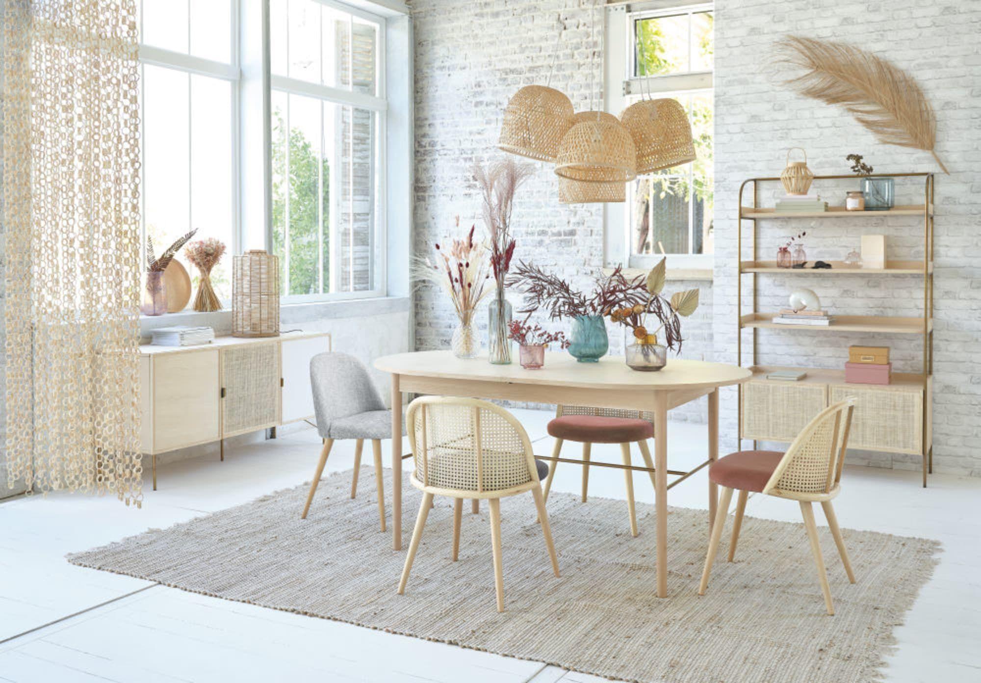 Lampade Sospensione A Grappolo Étagère 2 portes cannage en rotin | furniture, home decor, home