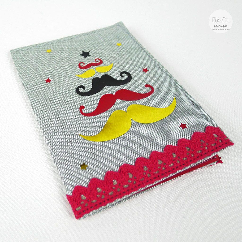 Weihnachtskarten aus Stoff mit Plott - Moustache | DIY: Nähen ...