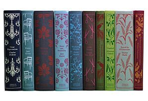 One Kings Lane - Judge a Book by Its Cover - S/10 Penguin Classics Books