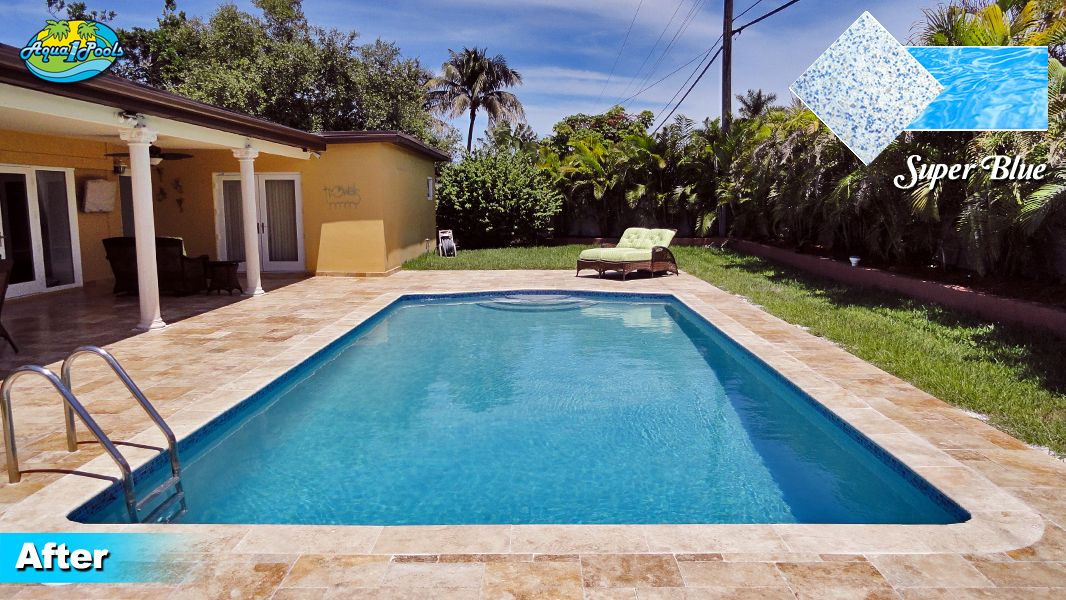 Diamond Brite Super Blue Pool Ideas Swimming Pools Pool Colors Miami Pool