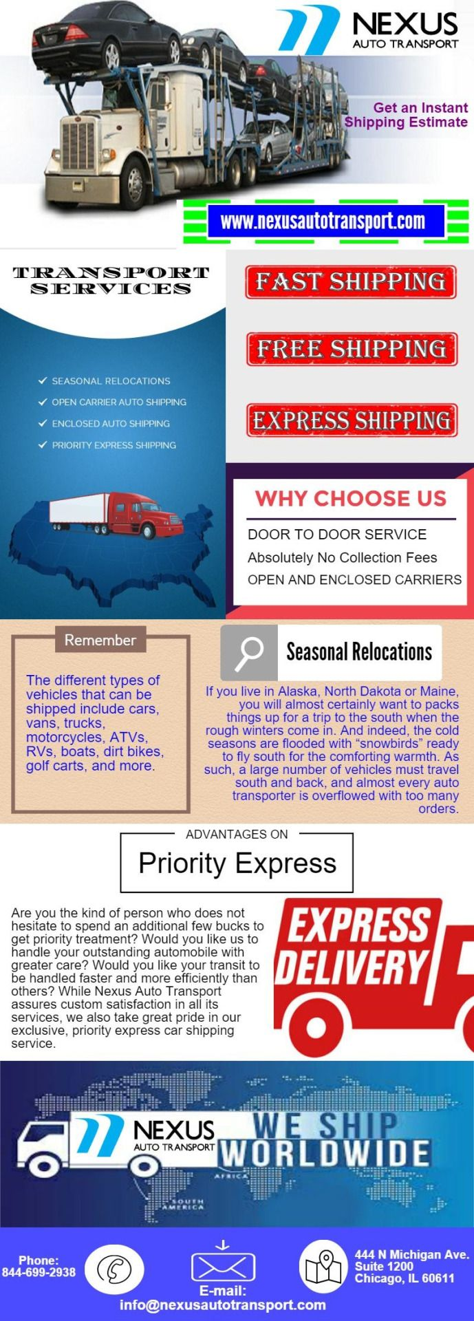 pinnexus auto transport on open carrier auto shipping