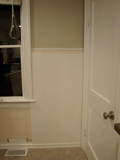 beadboard over existing tile