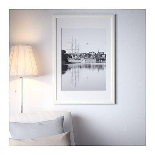VIRSERUM Frame, white | Rental upgrades | Pinterest | Frame, Ikea ...