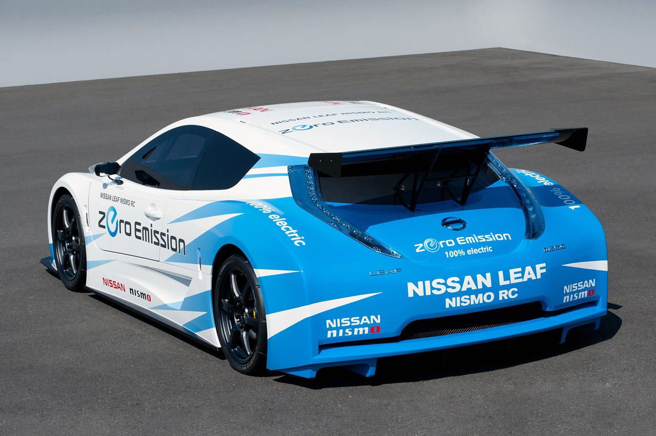 Nissan Leaf Nismo Rc Is Ready For The 24 Hours Of Le Mans Race Automotorblog